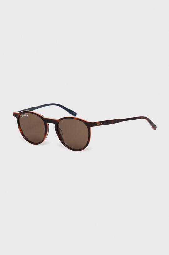 brązowy Lacoste - Okulary przeciwsłoneczne Unisex