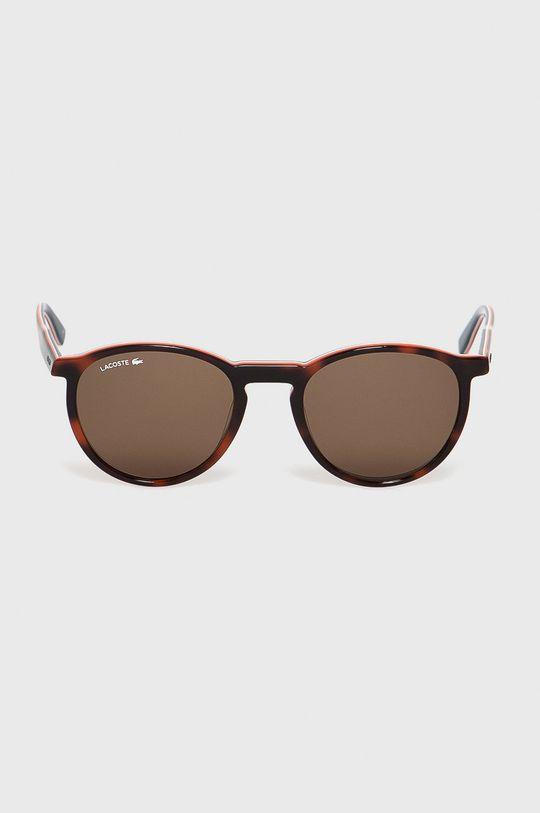 Lacoste - Okulary przeciwsłoneczne brązowy