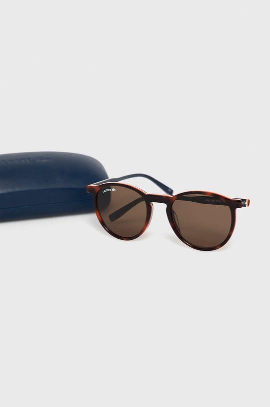 Lacoste - Okulary przeciwsłoneczne Materiał syntetyczny