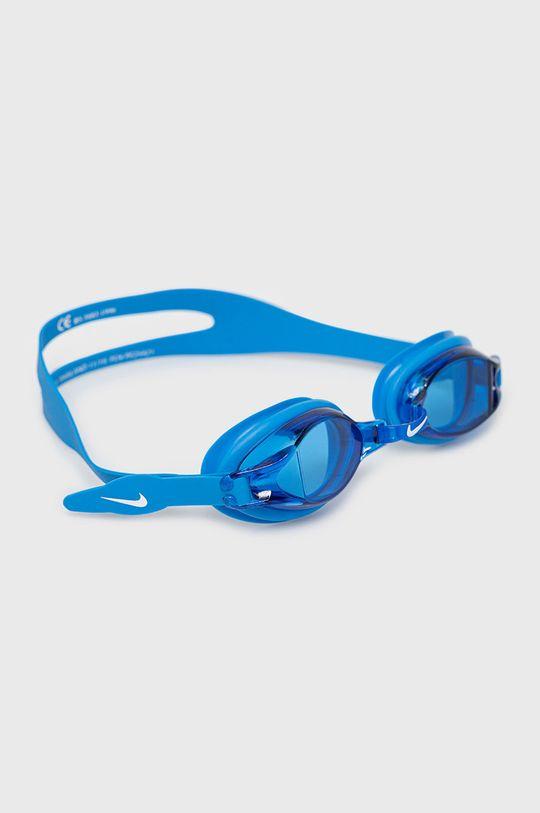 niebieski Nike - Okulary pływackie Unisex