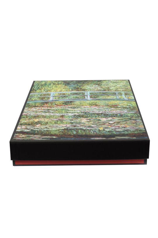 MuseARTa - Pudełko prezentowe Claude Monet - Bridge over a Pond of Water Lilies 100 % Papier
