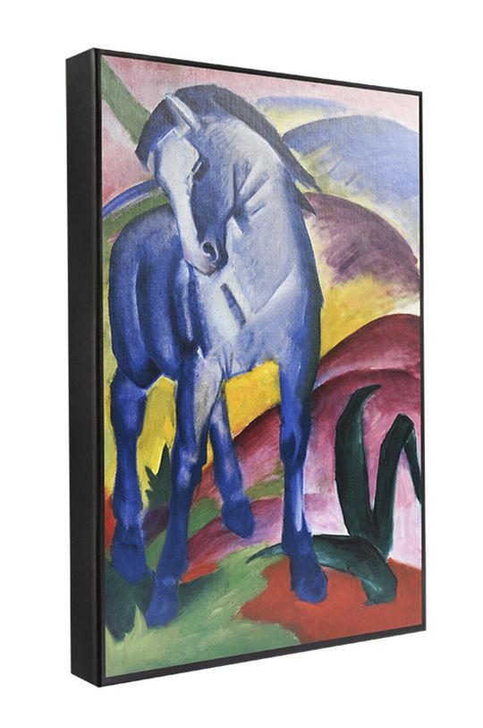 multicolor MuseARTa - Pudełko prezentowe Franz Marc - Blue Horse Unisex