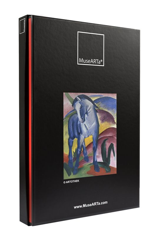 MuseARTa - Pudełko prezentowe Franz Marc - Blue Horse multicolor