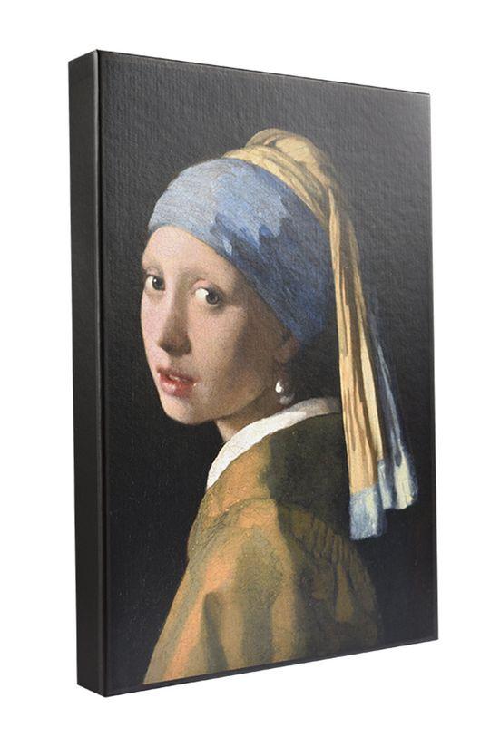 czarny MuseARTa - Pudełko prezentowe Jan Vermeer - Girl with a Pearl Unisex