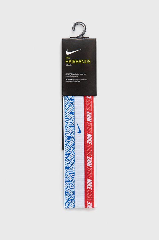 biały Nike - Zestaw opasek sportowych (3-pack) Unisex