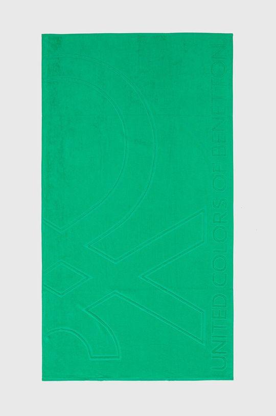 ostrá zelená United Colors of Benetton - Osuška Unisex