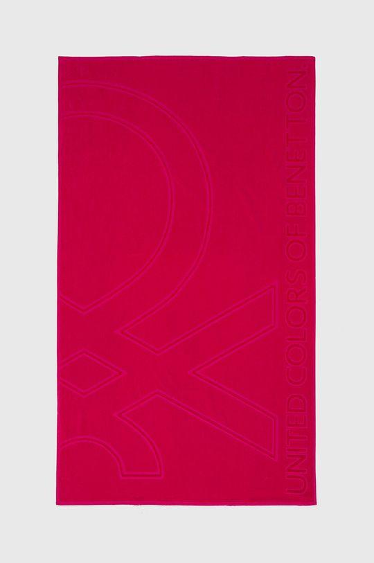 růžová United Colors of Benetton - Osuška Unisex