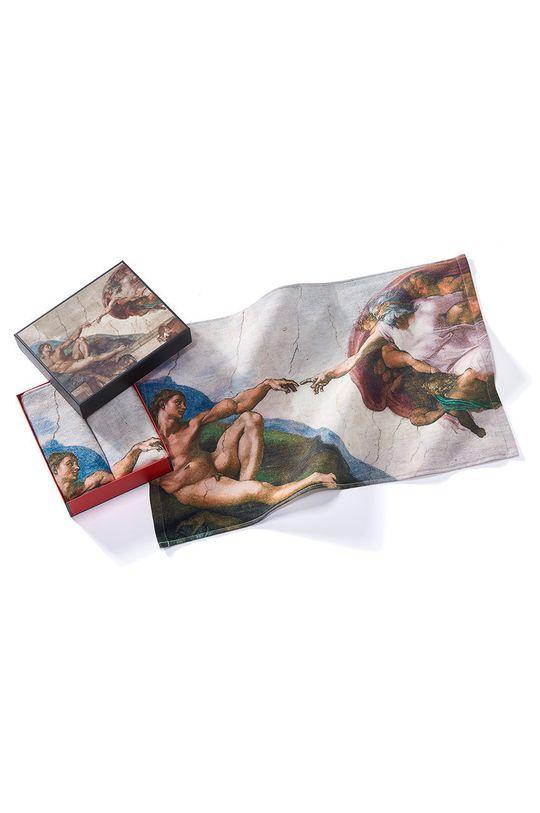 vícebarevná MuseARTa - Ručník Buonarroti Michelangelo The Creation of Adam (2-pack) Unisex