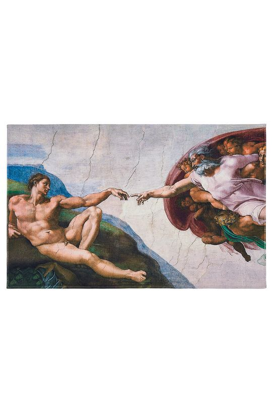 MuseARTa - Ručník Buonarroti Michelangelo The Creation of Adam (2-pack) vícebarevná