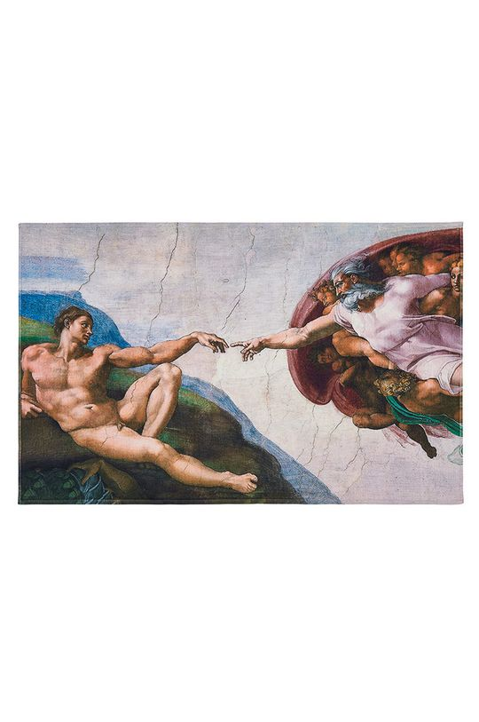 vícebarevná MuseARTa - Ručník Buonarroti Michelangelo The Creation of Adam Unisex