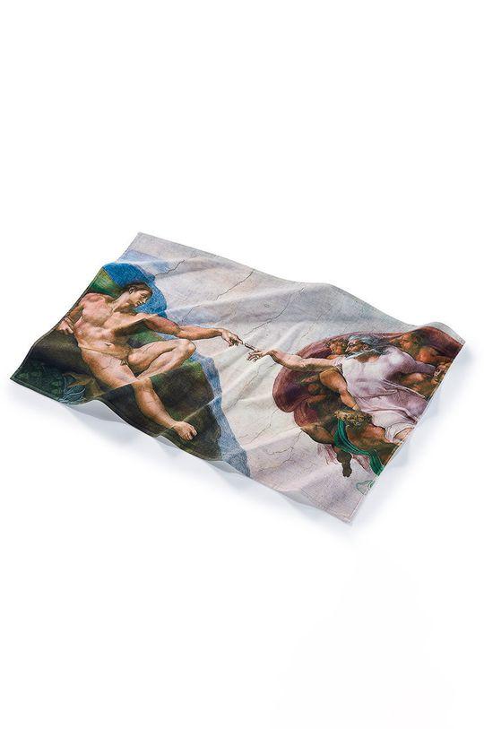 MuseARTa - Ručník Buonarroti Michelangelo The Creation of Adam vícebarevná