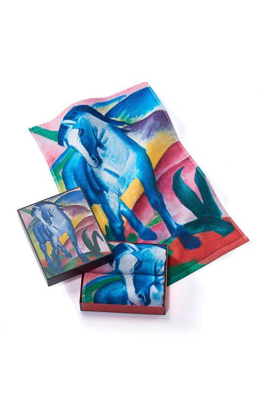 vícebarevná MuseARTa - Ručník Franz Marc Blue Horse (2-pack) Unisex