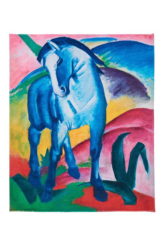 MuseARTa - Ručník Franz Marc Blue Horse (2-pack) vícebarevná