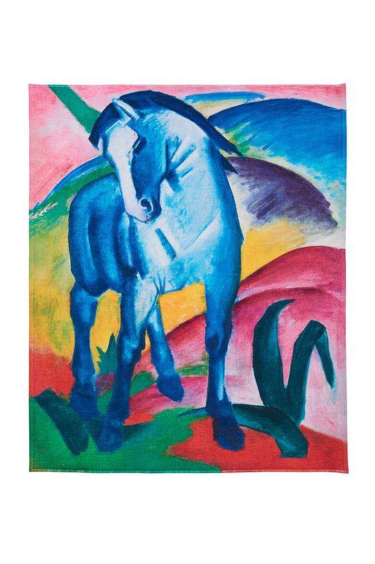 vícebarevná MuseARTa - Ručník Franz Marc Blue Horse I Unisex