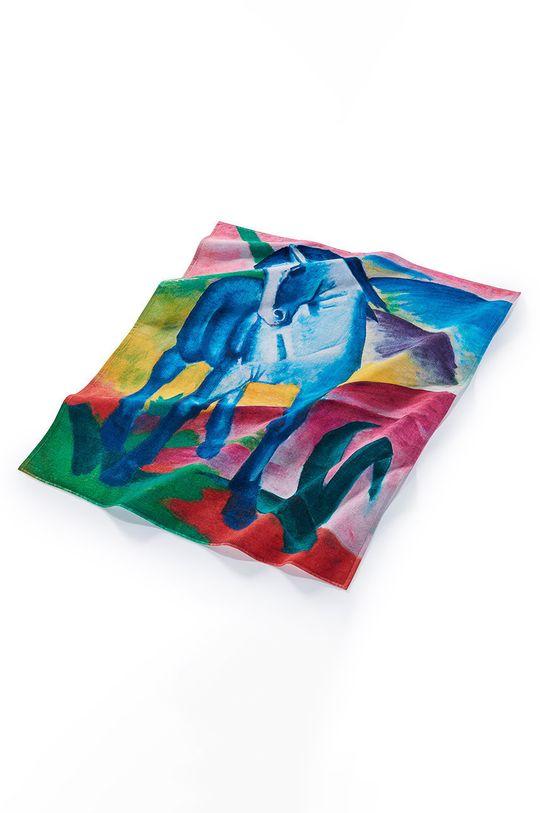 MuseARTa - Ručník Franz Marc Blue Horse I vícebarevná
