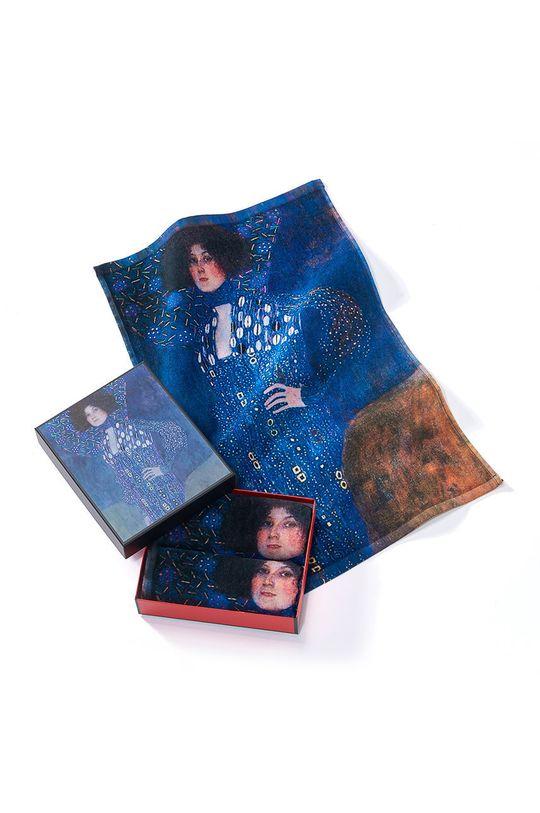 vícebarevná MuseARTa - Ručník Gustav Klimt Emilie Flöge (2-pack) Unisex