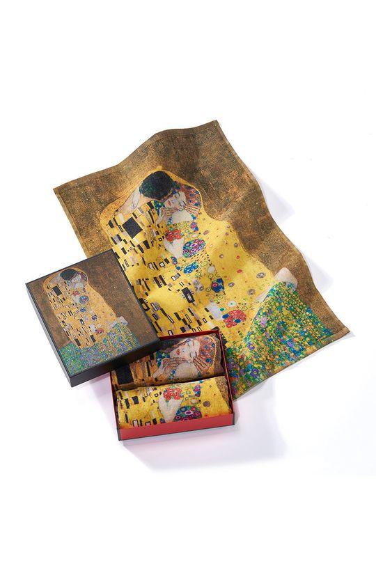 vícebarevná MuseARTa - Ručník Gustav Klimt The Kiss (2-pack) Unisex