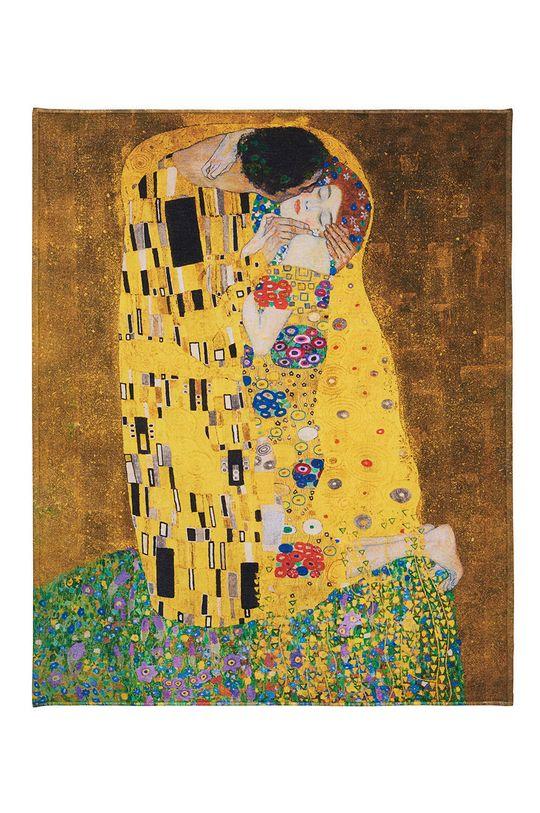 MuseARTa - Ručník Gustav Klimt The Kiss (2-pack) vícebarevná