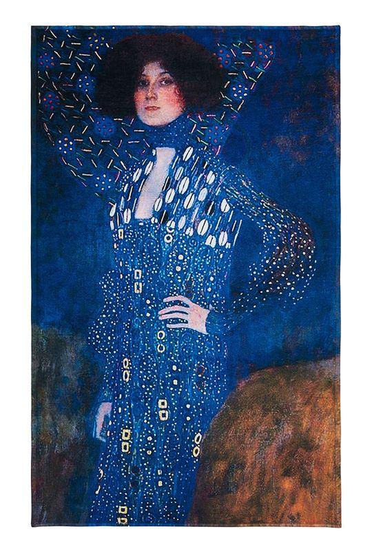 vícebarevná MuseARTa - Ručník Gustav Klimt Emilie Flöge Unisex