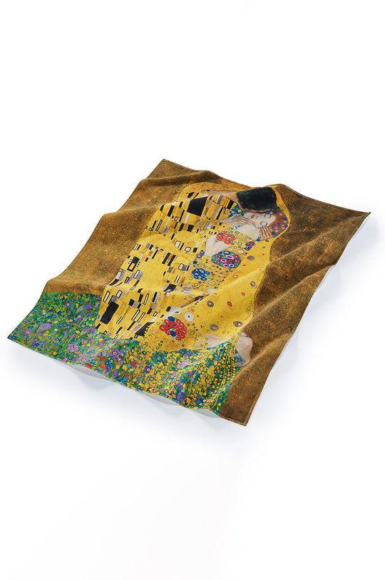 vícebarevná MuseARTa - Ručník Gustav Klimt The Kiss Unisex