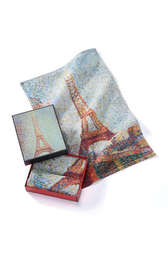 vícebarevná MuseARTa - Ručník Georges Seurat Eiffel Tower (2-pack) Unisex