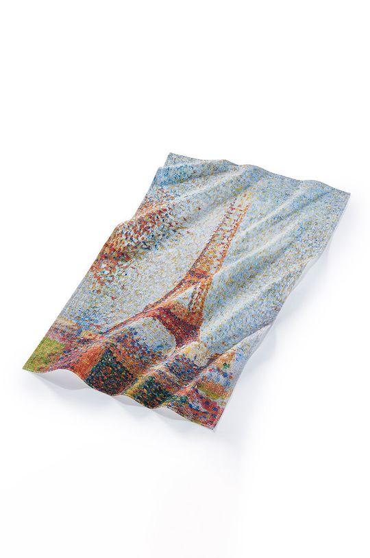MuseARTa - Ručník Georges Seurat Eiffel Tower vícebarevná