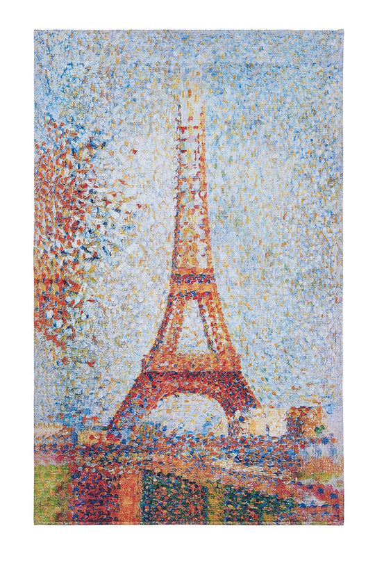 vícebarevná MuseARTa - Ručník Georges Seurat Eiffel Tower Unisex