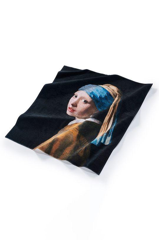 vícebarevná MuseARTa - Ručník Jan Vermeer Girl with a Pearl Earring Unisex