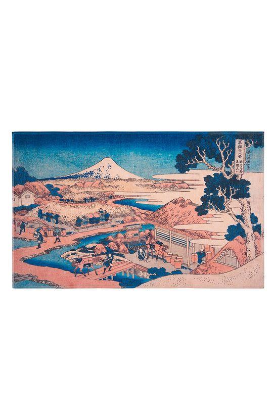 multicolor MuseARTa - Ręcznik Katsushika Hokusai - Mount Fuji Unisex