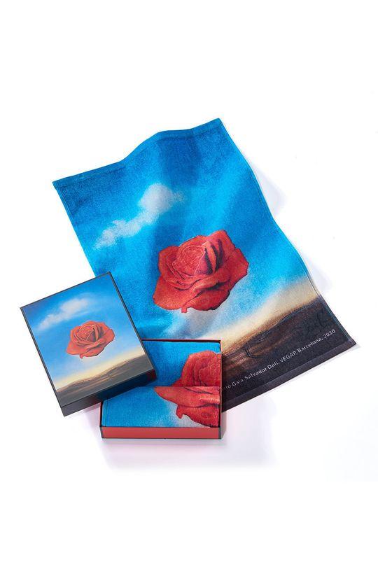 vícebarevná MuseARTa - Ručník Salvador Dalí Meditative Rose (2-pack) Unisex