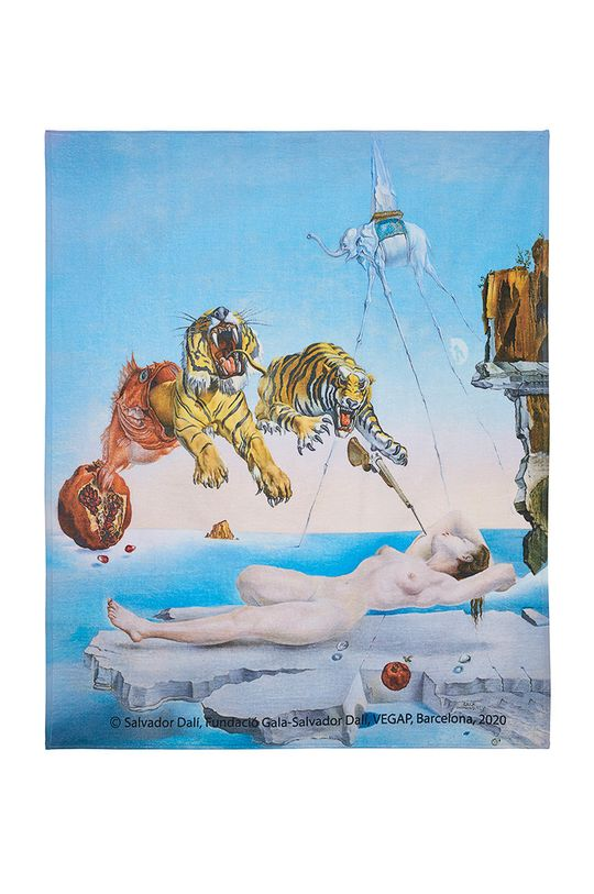 multicolor MuseARTa - Ręcznik Salvador Dalí Dream Caused by the Flight of a Bee Around a Pomegranate a Second before Awakening Unisex
