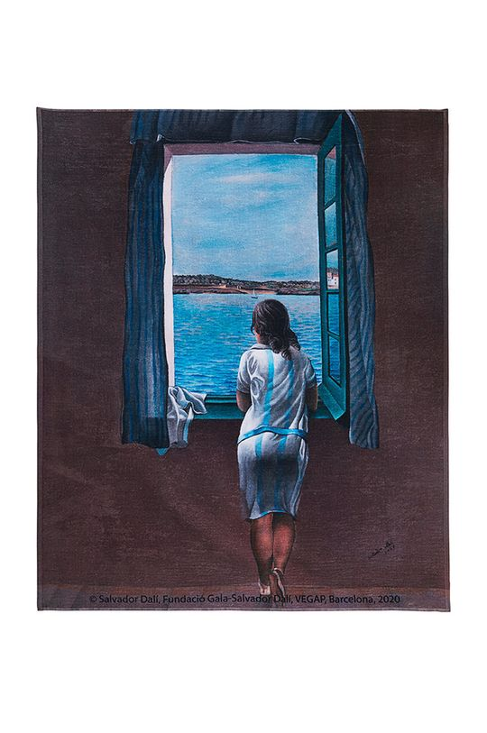 multicolor MuseARTa - Ręcznik Salvador Dalí Figure at the Window Unisex