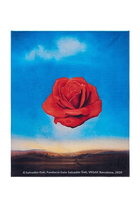 multicolor MuseARTa - Ręcznik Salvador Dali - Meditative Rose Unisex