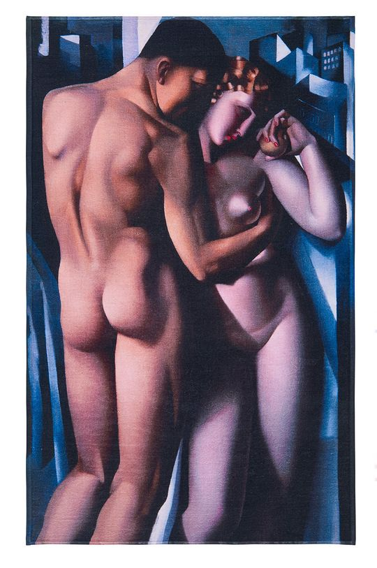 MuseARTa - Ručník Tamara de Lempicka Adam and Eve (2-pack) vícebarevná
