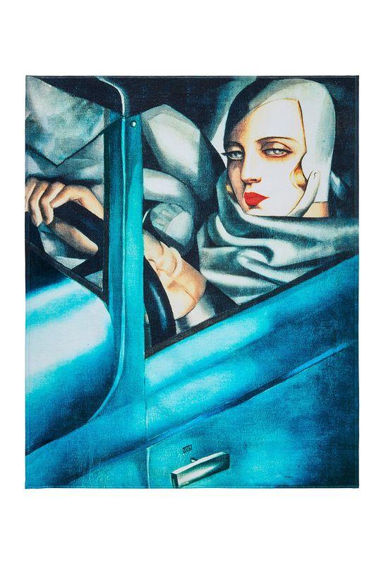 MuseARTa - Ručník Tamara de Lempicka Tamara in the Green Bugatti vícebarevná