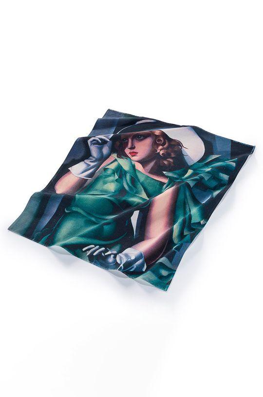 MuseARTa - Ručník Tamara de Lempicka Young Lady with Gloves vícebarevná
