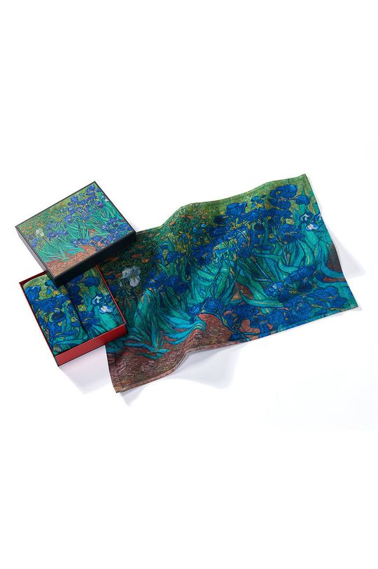 vícebarevná MuseARTa - Ručník Vincent van Gogh Irises (2-pack) Unisex