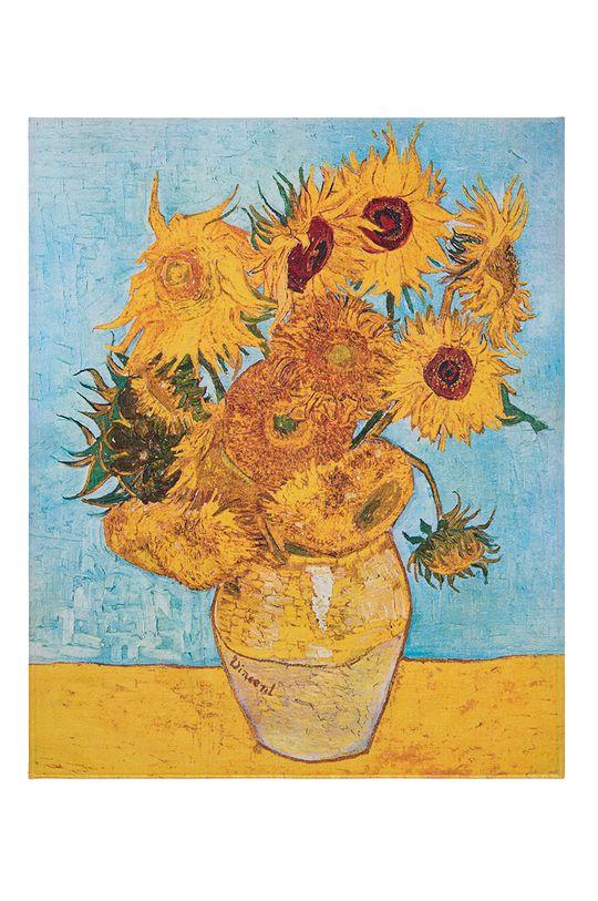 MuseARTa - Ručník Vincent van Gogh Vase with Twelve Sunflowers (2-pack) vícebarevná