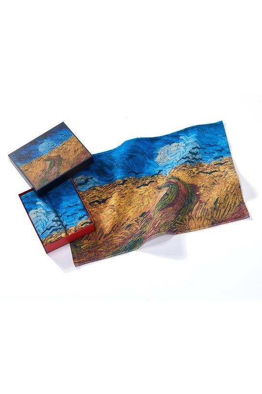 vícebarevná MuseARTa - Ručník Vincent van Gogh Wheatfield with Crows (2-pack) Unisex