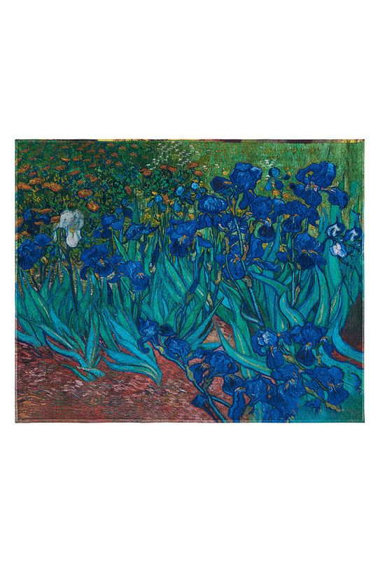 vícebarevná MuseARTa - Ručník Vincent van Gogh Irises Unisex