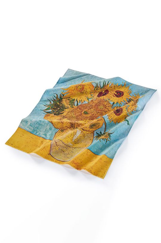 MuseARTa - Ručník Vincent Van Gogh Vase with Twelve Sunflowers vícebarevná