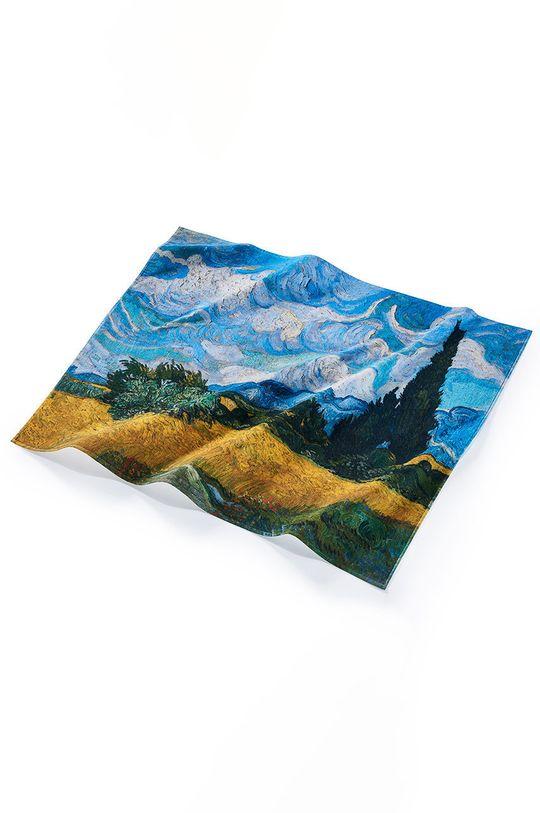 MuseARTa - Ručník Vincent van Gogh Wheatfield with Cypresses vícebarevná