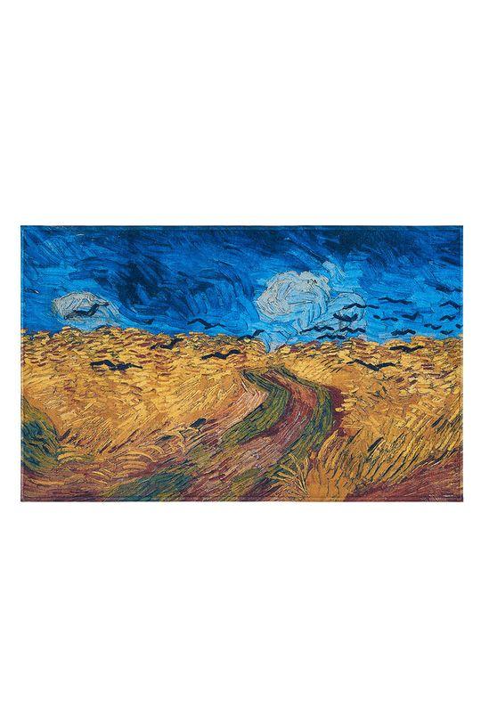 vícebarevná MuseARTa - Ručník Vincent van Gogh Wheatfield with Crows Unisex