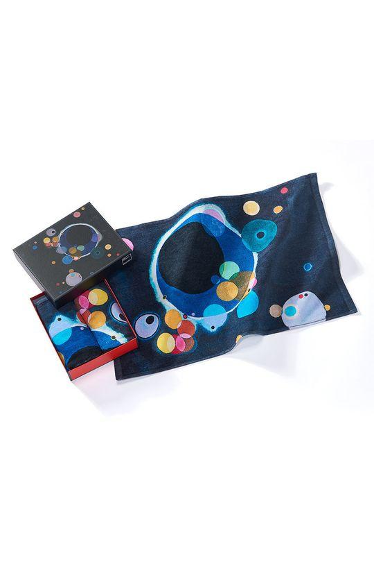 vícebarevná MuseARTa - Ručník Vasily Kandinsky Several Circles (2-pack) Unisex