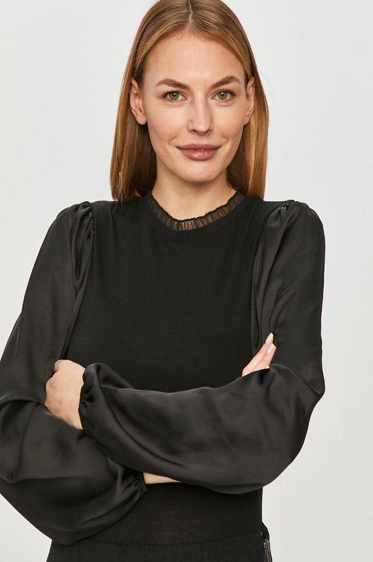 čierna Jacqueline de Yong - Blúzka