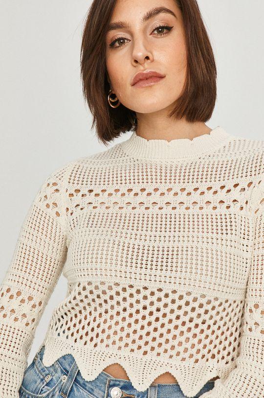 kremowy Guess - Sweter