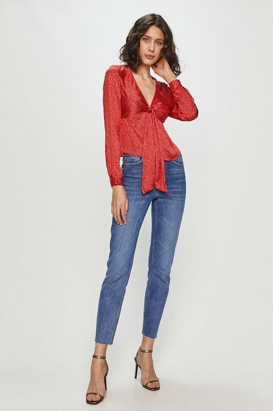 Guess - Bluzka czerwony