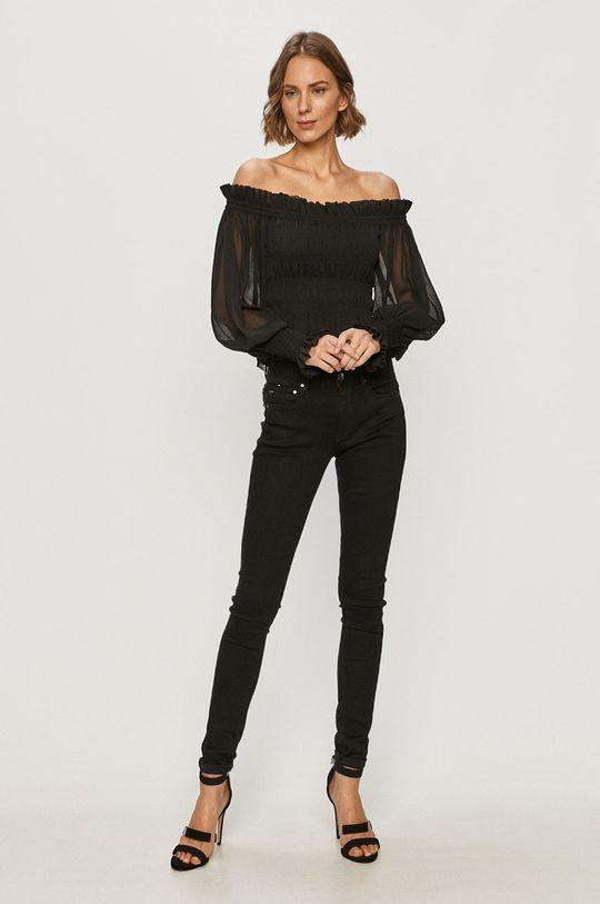 AllSaints - Bluzka LARA czarny
