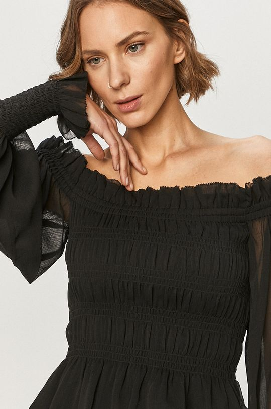 czarny AllSaints - Bluzka LARA