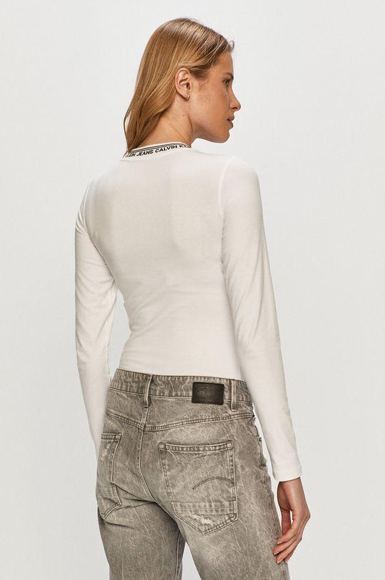 Calvin Klein Jeans - Tričko s dlouhým rukávem  95% Bavlna, 5% Elastan